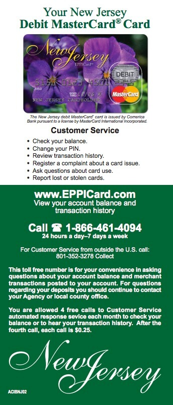 Eppicard NJ Customer Service and Account Login