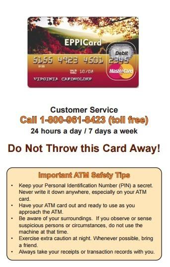 Eppicard VA (Virginia) Customer Service Information